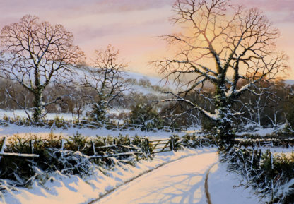 A Winters Solace Original Oil Painting