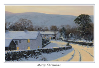 Evening over Nether Wasdale Christmas Card