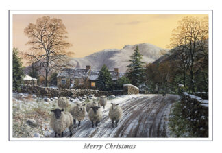Scafell at Nether Wasdale Christmas Card