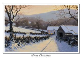 Winters Eve Christmas Card